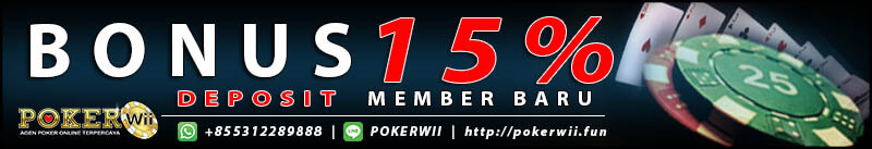 agen judi poker banyak bonus