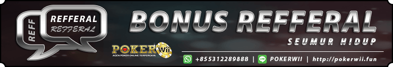 bonus refferal judi poker online