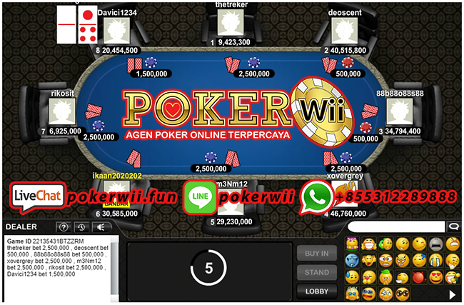 Agen Judi Online Poker Deposit Termurah